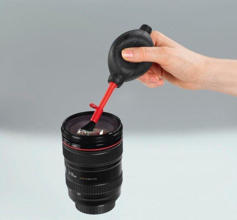 Basics Souffleur /à air pour appareils photos et /électroniques sensibles Noir